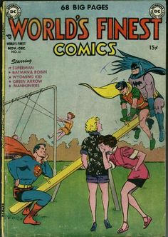 Unintentionally Dirty Vintage Comic Book Covers - Robin, What Are You Doing? | Guff