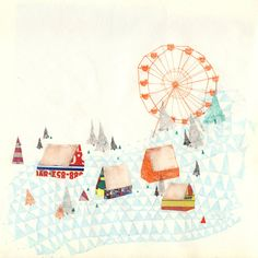 Carnival by Charmaine Olivia...love the ferris wheel