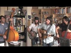 The Avett Brothers Tiny Desk Concert for NPR Music - love the comment about Scott swallowing a microphone