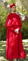 1540s Cardinal Costume and Details on Construction