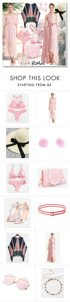 """Untitled #1526"" by ane-twist ❤ liked on Polyvore featuring romwe, outfits and sumer"