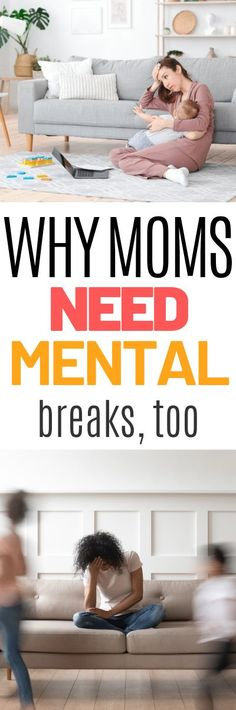 If you need a break, take it. Tired moms are stressed moms. Find out why mental breaks are important. Parenting Memes, Parenting Styles, Parenting Books, Kids And Parenting, Child Rearing Practices, Mental Break, Positive Parenting Solutions, World Hunger, Tired Mom