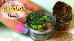 Hey guys! Today's tutorial is for a miniature goldfish garden pond in some buckets, so I hope you'll enjoy :) This is a paper/wood/resin/ polymer clay tutori...