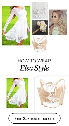 """""""Visiting Mom's Grave"""" by elviemarie on Polyvore featuring Jessica Simpson and Disney"""