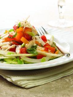 Vidalia Onion, Lump Blue Crabmeat & Tomato Salad Onion Salad, Tomato Salad, Southern Dishes, Southern Recipes, Onion Recipes, Salad Recipes, Sweet Onion Recipe, Crab Salad, Vidalia Onions