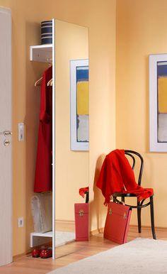Делаем оригинальный шкаф с зеркалом. Просто и эффектно! (мастер-класс, 10 фото, чертежи)