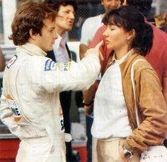 Gilles Villeneuve  & Joanne Villeneuve