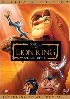 The Lion King, 1994. El rey león. Es la 32ª película animada producida por Walt Disney Pictures. Estrenada el 24 de junio de 1994, la película esta basada en la tragedia de Hamlet, de Shakespeare1 protagonizada por un joven león africano. Ganó el Globo de Oro a la mejor película - Comedia o musical.