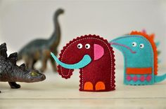 DIY Inspiration - Felt Finger Puppets