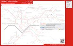Interaktywna mapa linii tramwajowych / Interactive map of tram network…