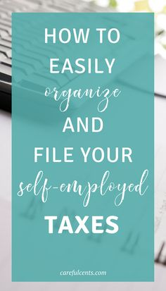 Learning how to do your own taxes isn't easy. But there are some easy tips for how to organize taxes and how to do your own taxes when self-employed. Plus, use my free tax toolkit for business owners!