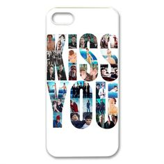 CTSLR Music Singer Series Protective Hard Case Cover for iPhone 5 1... ($5.86) ❤ liked on Polyvore featuring accessories, tech accessories, phone cases, one direction, phone and iphone cases