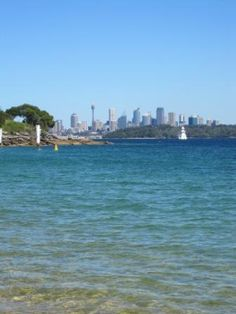 view of Sydney from Watsons Bay (Australia 2011)