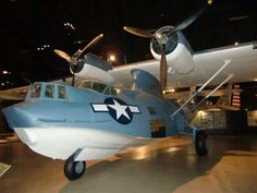 Army Air Corps version of Navy PBY  Shot at the National Museum of the USAF