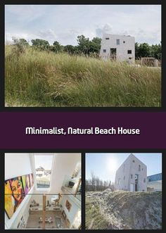 Rising out of the Westlandse Zoom dunes like a rock on the beach, this minimalist family home embraces natural inspiration in more than just design. Global A Cleaning White Walls, Beach Grass, Solar Heater, Like A Rock, Beach Rocks, Heat Pump, Architect Design, Beach House Decor, Open Up