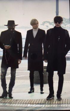 151130 Jonghyun, Minho, Taemin - Incheon International Airport to Hongkong