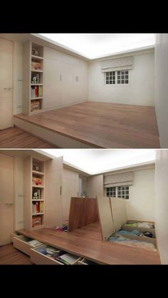 Diy Home Decor Space Saving And Optimizing Ideas What Genius Came Up With This Probably One With A Small House And No Storage Space