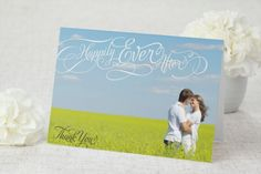 Happily Ever After - Thank You Card by MagnetStreet