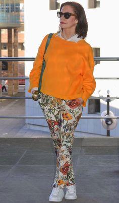 El capricho de Marquez@: Sudadera naranja