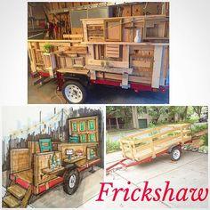 It's coming along!stay tuned for frickshaw fun!#itsjustbegining #fricketdesign