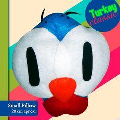Small Turkey pillow.