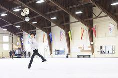 羽生結弦がトロントで公開練習(2)|フォトギャラリー |集英社のスポーツ総合雑誌 スポルティーバ 公式サイト web Sportiva