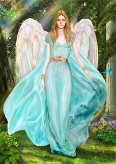 Archangel haniel by ekuta makoto