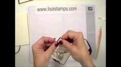 Lisa Bowell  Stampin'Up demonstrator -  Learn how to make this quick guy card. Visit lisastamps.com for a supply list.