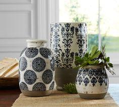 Lilian Vase   Pottery Barn