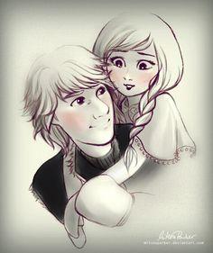 #Kristanna #Kristoff #Anna #Frozen
