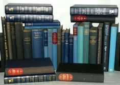 29 Black & Blue Hardback Books, Perfect for Display - Wedding Decoration Etc River Bank, Shades Of Black, Book Collection, Bookends, Wedding Decorations, Display, Amp, Blue, Ebay