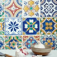 Fired Earth have an exclusive collection of wall tiles, floor tiles, designer paints, kitchens and bathrooms. Patchwork Tiles, Patchwork Designs, Wall And Floor Tiles, Wall Tiles, Fired Earth, Beautiful Gardens, House Beautiful, Technical Drawing, Cool Rooms