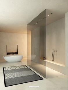 Modern Interior Design, Interior Architecture, Luxury Interior, Dream Home Design, House Design, Design Homes, Bathroom Design Inspiration, Bathroom Design Luxury, New Bathroom Designs