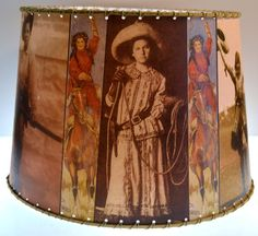 Hey, I found this really awesome Etsy listing at https://www.etsy.com/listing/109242050/med-cowgirl-western-decor-lamp-shade