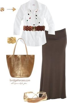 One Item, Five Fashionable Ways. Look 4
