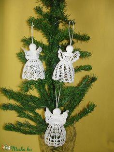 angyalok 10 12 cm Crochet Earrings, Christmas Ornaments, Holiday Decor, Amigurumi, Christmas Jewelry, Christmas Decorations, Christmas Decor