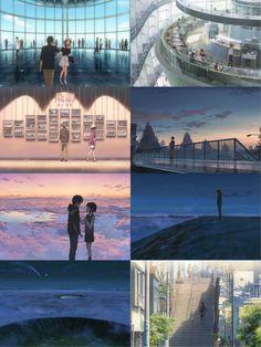 Kimi no na wa Watch Your Name, Makoto Shinkai Movies, Mitsuha And Taki, Kimi No Na Wa Wallpaper, Manga, Your Name Anime, Vocaloid, Scenery Background, Frases