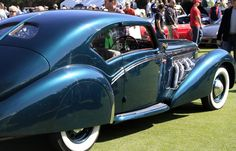 A classic Delage at the Cars & Coffee at the Golf Club of Amelia Island