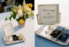 Cute idea, film a message for the couple. Although, it could get messy at the end of the night ;)