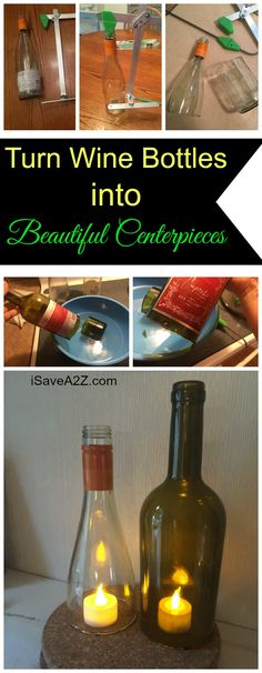 Wine Bottle Craft Ideas - iSaveA2Z.com