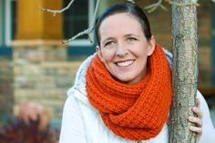 flax & twine | craft + diy: A Chunky Moebius Cowl - an easy chunky knit free pattern