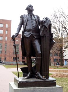 One of several statues of George Washington at University bearing his name George Washington, Washington Dc, American Revolutionary War, American Civil War, Native American History, British History, Women In History, Ancient History, Statues