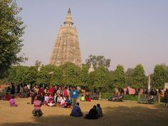 Bodhgaya, India. The very place where the Buddha achieved enlightenment.