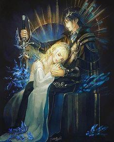 Final fantasy 15 fan art of Noctis and Lunafreya Final Fantasy Vii, Noctis Final Fantasy, Final Fantasy Artwork, Fantasy Series, Final Fantasy Xv Wallpapers, Art Final, Noctis And Luna, Reborn Anime, Fantasy Couples