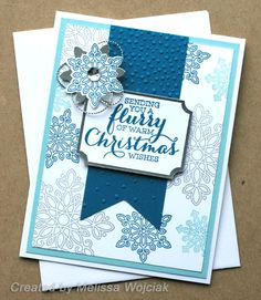 8th Annual Holiday Stamp-a-Stack ~ More Wonderland by RunningwScissorsStamper