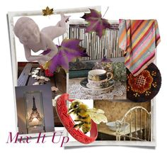 """Mix It Up!"" by plumsandhoneyvintage ❤ liked on Polyvore featuring interior, interiors, interior design, home, home decor, interior decorating, Once Upon a Time and vintage"