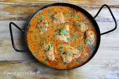 Poulet tikka massala Plus Indian Food Recipes, Ethnic Recipes, Fish And Meat, Exotic Food, Frozen Meals, Food To Make, Chicken Recipes, Curry, Food And Drink