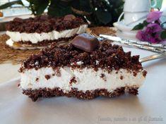 Cheesecake sbriciolata con mousse di ricotta ....quanti modi esistono per preparare un ottima cheesecake..tantissimi questo è uno di quelli. Dolce fresco...