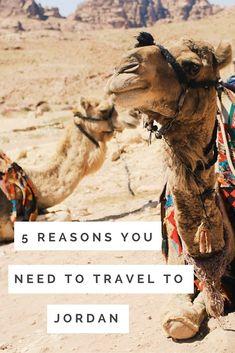 travel reasons visit jordan