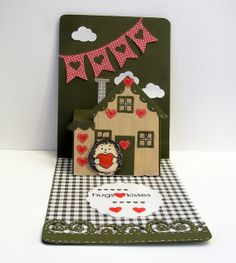 Judy Jung using the A2 Pop 'n Cuts Base, House Insert, House Thinlits and Borders & Banners Thinlits - 100_6103.jpg by judkajudy, via Flickr